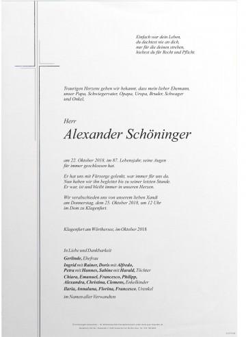 Alexander Schöninger