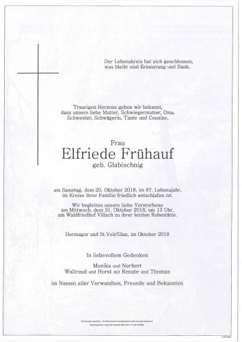 Elfriede Frühauf
