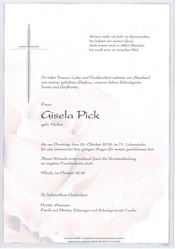 Gisela Pick