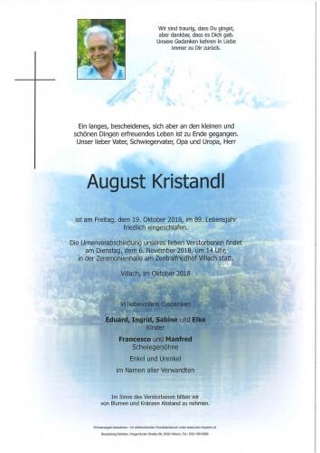 August Kristandl