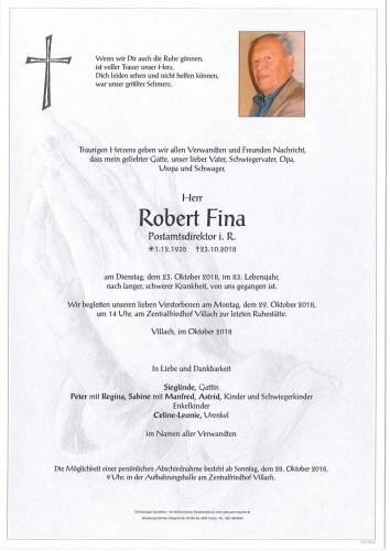 Robert Fina