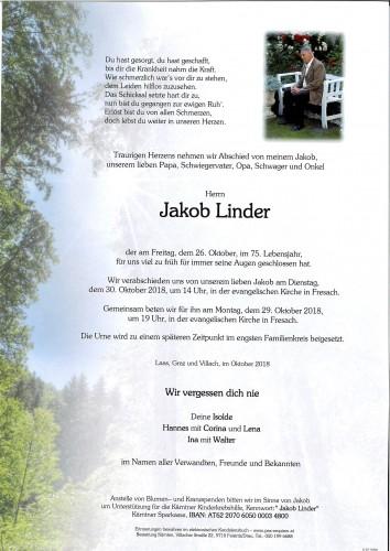 Jakob Linder