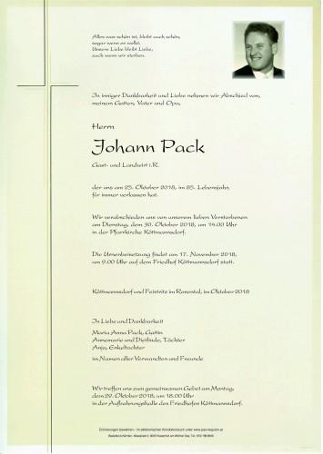 Johann Pack