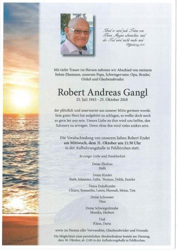 Robert Andreas Gangl