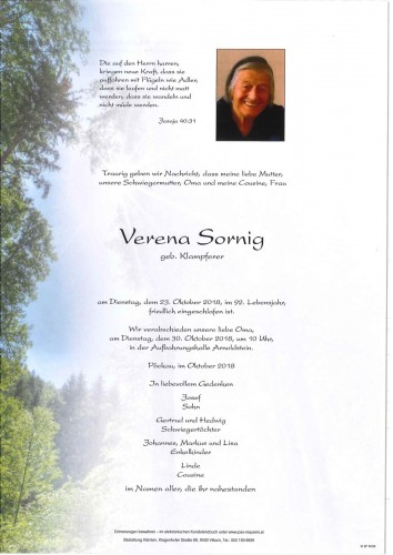 Verena Sornig