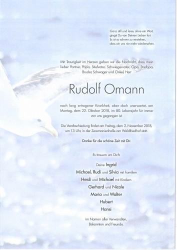 Rudolf Omann