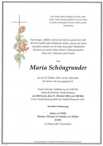 Maria Schöngrundner