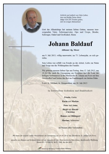 Johann Baldauf