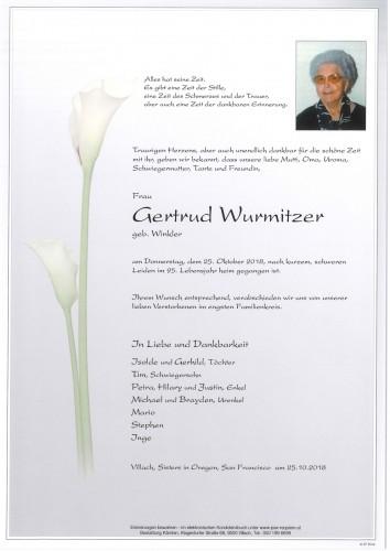 Gertrud Wurmitzer