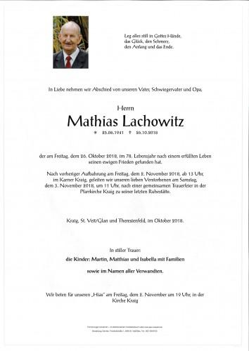 Mathias Lachowitz