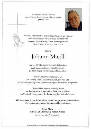 Johann Miedl