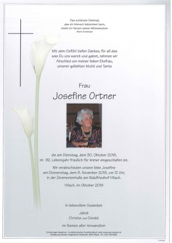 Josefine Ortner
