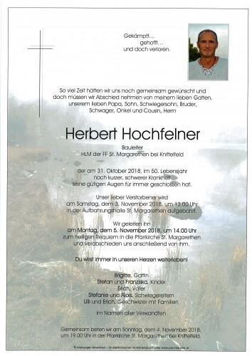 Herbert Hochfelner