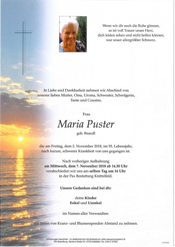 Maria Puster