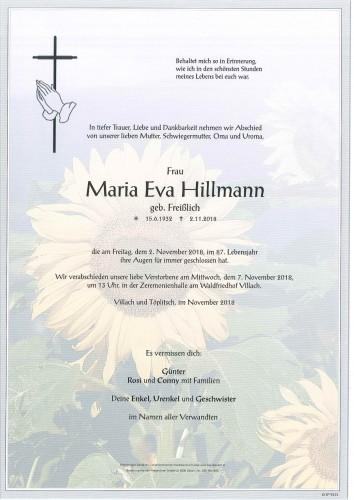 Maria Eva Hillmann
