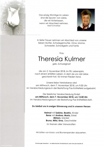 Theresia Kulmer
