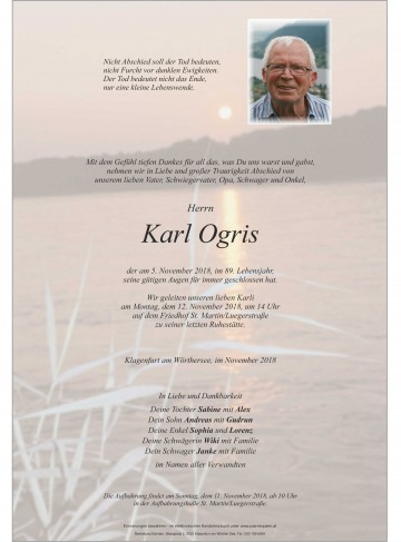 Karl Ogris