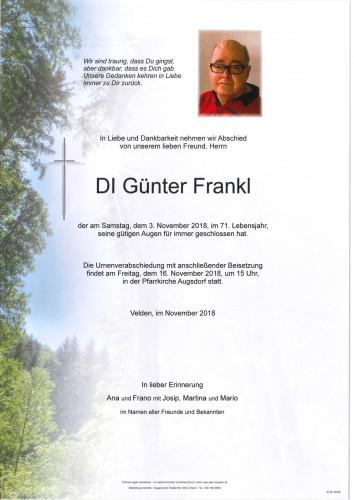 DI Günter Frankl