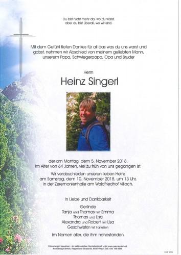 Heinz Singerl