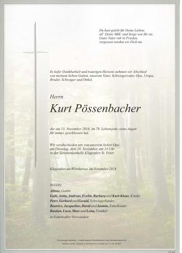 Kurt Pössenbacher