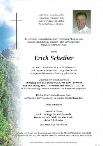 Erich Scheiber