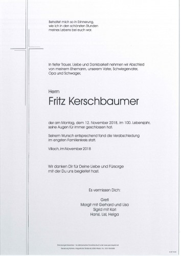 Fritz Kerschbaumer