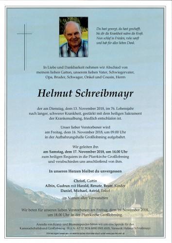 Helmut Schreibmayr