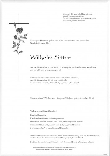 Wilhelm Sitter