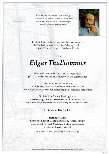 Edgar Thalhammer