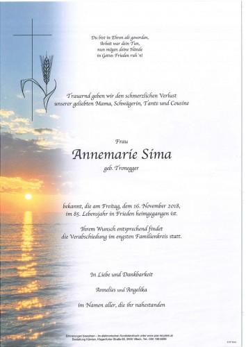 Annemarie Sima