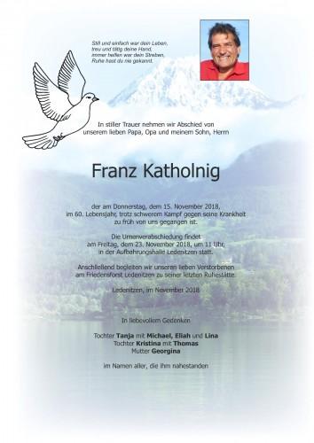 Franz Katholnig