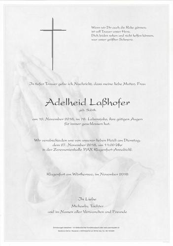 """Adelheid Laßhofer """"Heidi"""""""