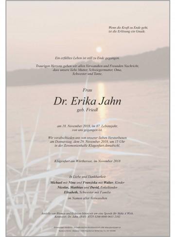 Dr. Erika Jahn