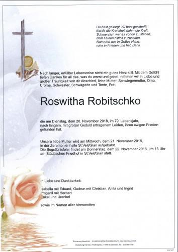 Roswitha Robitschko