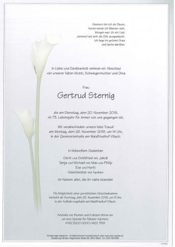Gertrud Sternig