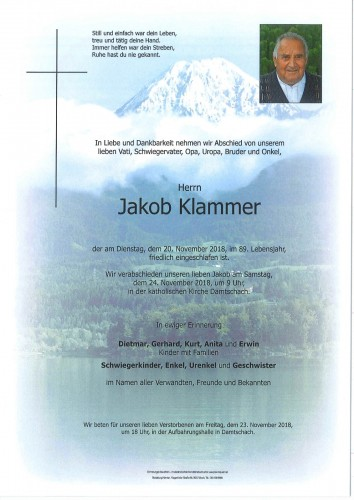 Jakob Klammer