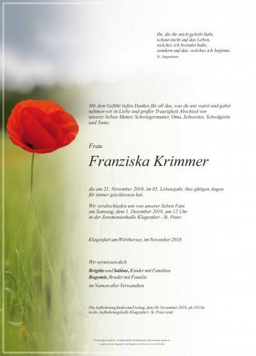 Franziska Krimmer
