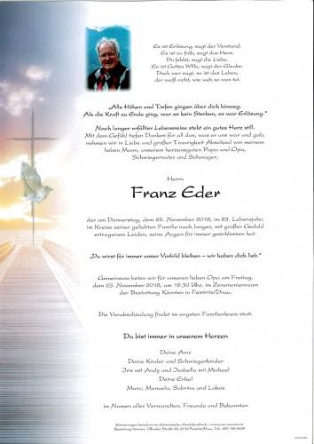 Franz Eder