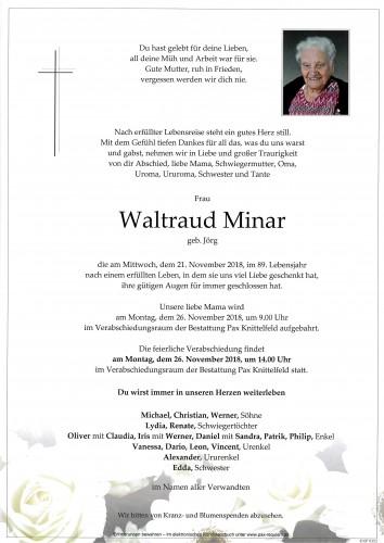 Waltraud Minar