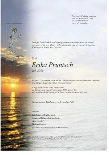 Erika Pruntsch