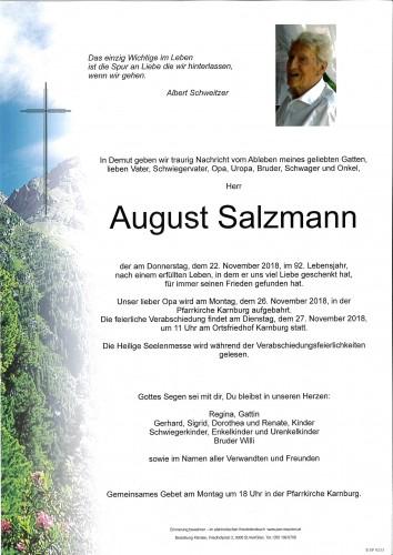 August Salzmann