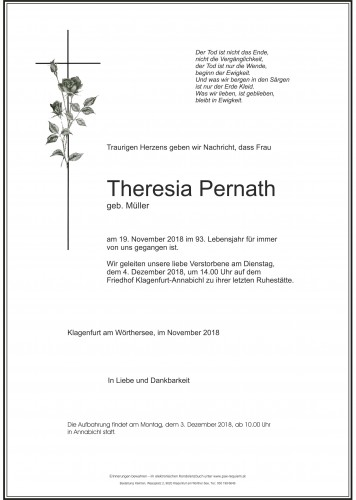 Theresia Pernath