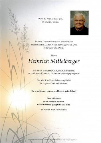 Heinrich Mittelberger