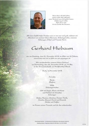 Gerhard Hiebaum