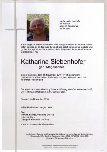 Katharina Siebenhofer