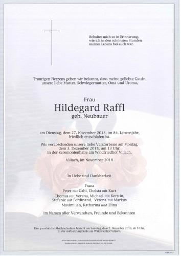 Hildegard Raffl