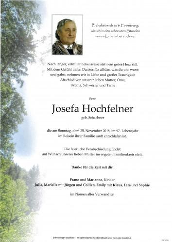 Josefa Hochfelner