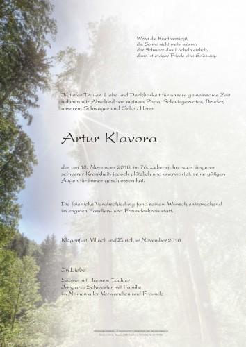 Artur Klavora