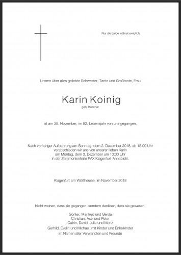 Karin Adelheid Koinig