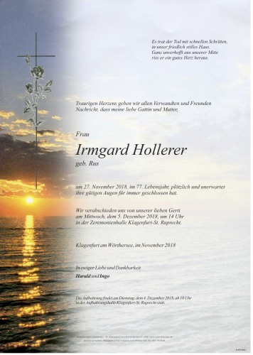 Irmgard Hollerer